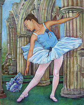 Butterfly Ballerina by Rachel M Cotton