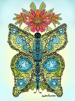 Butterfly Bliss by Christine Fournier
