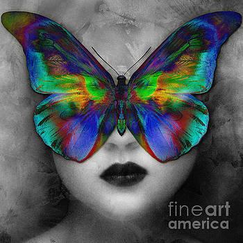 Butterfly Girl by Klara Acel