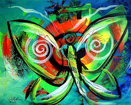 Butterfly Love by J Vincent Scarpace