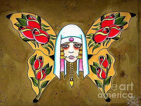 Butterfly Nurse by Kev G