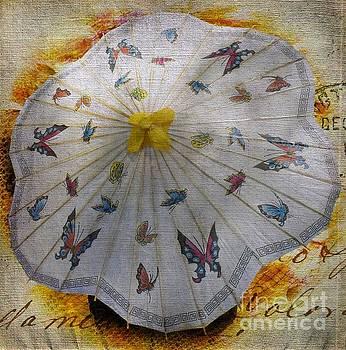 Butterfly Parasol by Lilliana Mendez