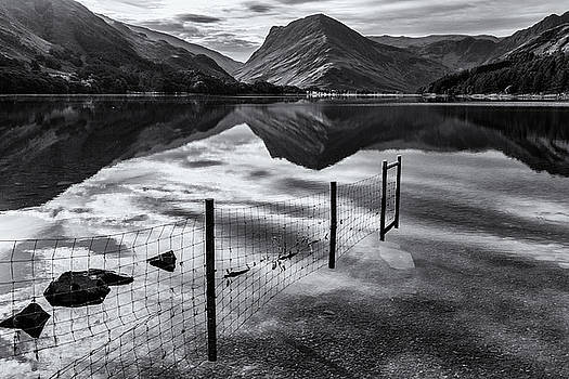 Buttermere Reflections by Stuart Gennery