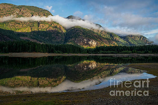 Buttle Lake, Strathcona Provincial Park, Campbell River, British by Carrie Cole