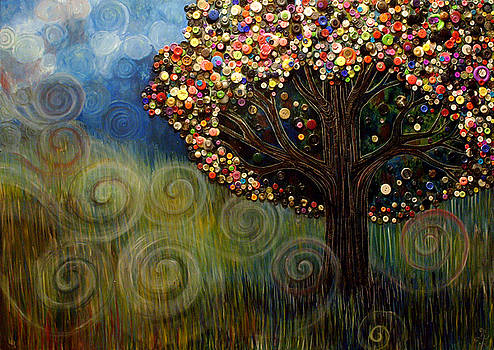 Button tree 0003 by Monica Furlow
