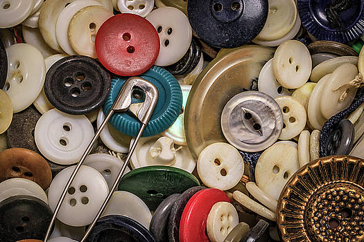 Buttons And Buttons by Ray Congrove