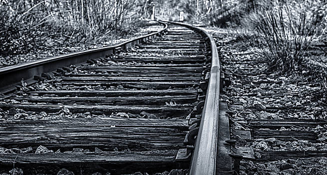 BW Tracks by Mike Berry