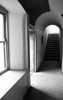 Marilyn Wilson - Historic Hallway - bw