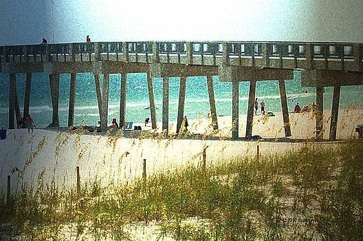 By The Pier by Deborah