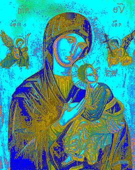 Byzantine Our Lady of Perpetual Help by Joy McKenzie