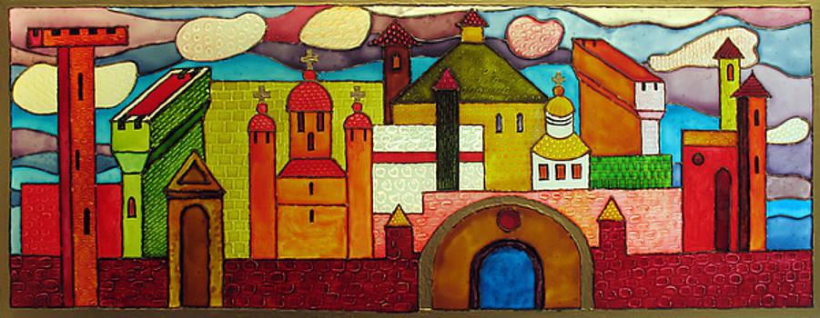 Byzantion. Dream. 2009 by Yuri Yudaev