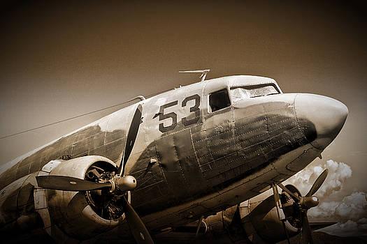 C-47 Sky Train by Richard Gehlbach