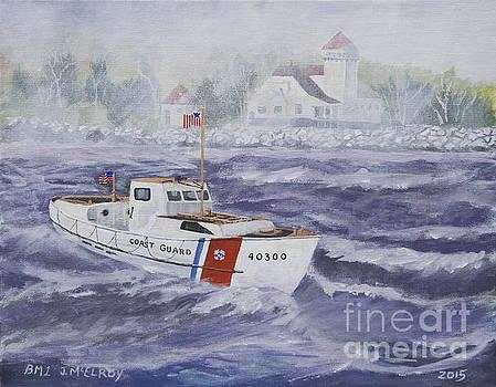 Jerry McElroy - C G 40300 at Coast Guard Station Plum Island