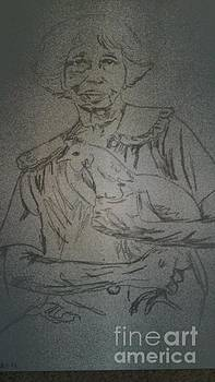 C Hunter Folk Artist by Frechelle OUTSIDER