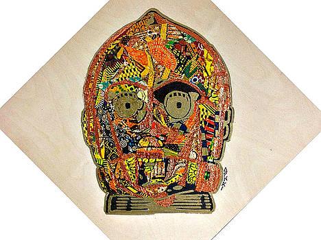 C3PO Star Wars Afrofuturist Collection by Apanaki Temitayo M