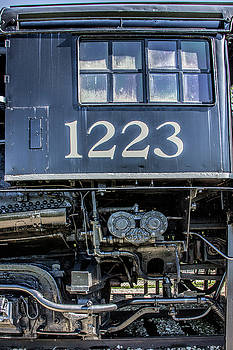 Randall Nyhof - Cab of the Pere Marquette Railroad Steam Locomotive