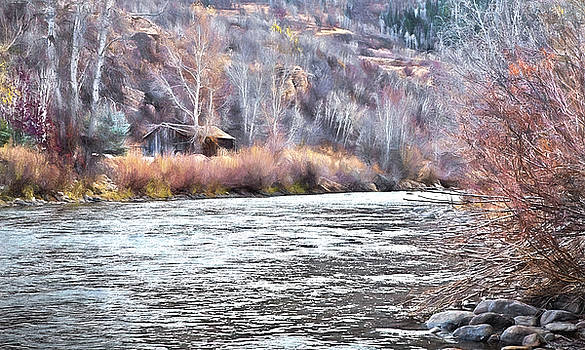 James Steele - Cabin by The River In Steamboat,co