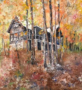 Hill Creek Cabin in Heber  by Robin Miller-Bookhout