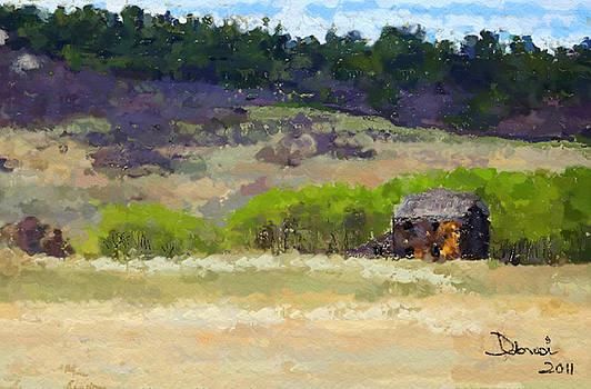 Cabin on the Hillside by Deborah Rosier