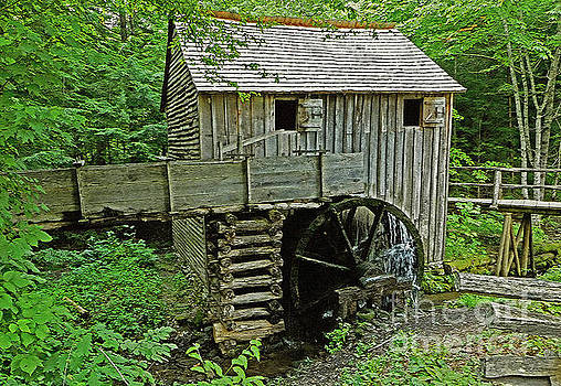Cable Grist Mill 2 by Lydia Holly