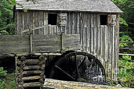 Cable Grist Mill 3 by Lydia Holly