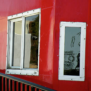 Caboose Windows by Rosalie Scanlon