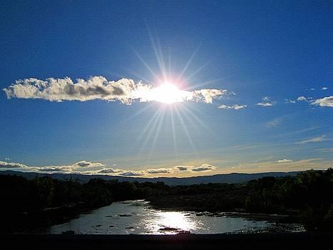 Cache Creek Sunset by Jennifer Muller