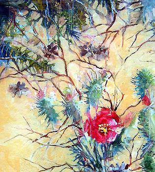 Cactus Flower by Linda Shackelford