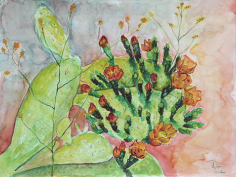 Cactus Flowers by Denise Jo Williams