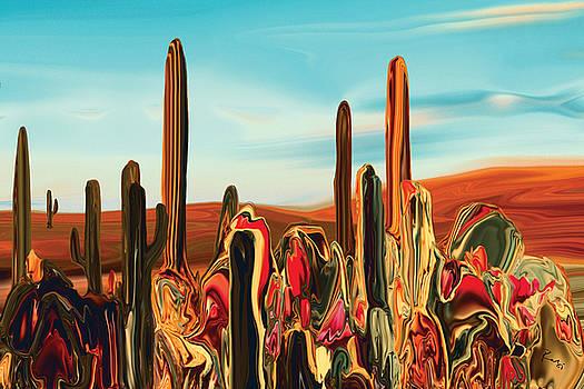 Cactus Land 3 by Rabi Khan