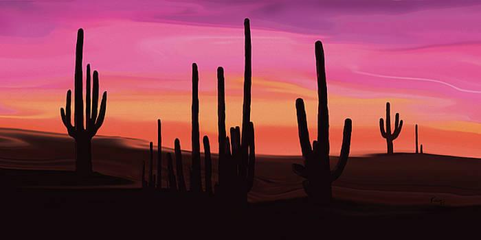 Cactus Land 4 by Rabi Khan
