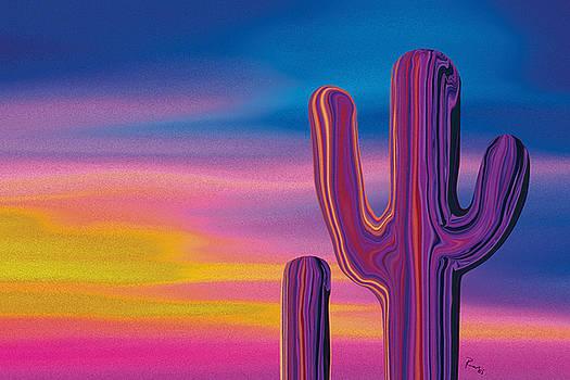 Cactus Land 5 by Rabi Khan