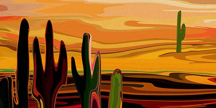 Cactus Land by Rabi Khan
