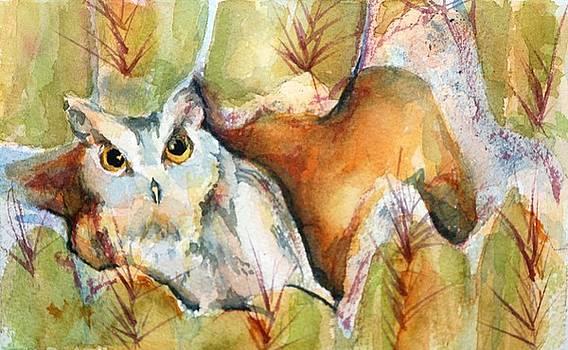 Donna Pierce-Clark - CACTUS OWL