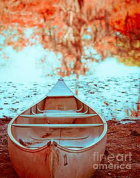 Sonja Quintero - Caddo Canoe in Fall