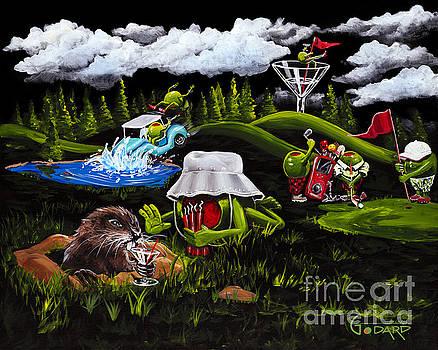 Caddy Shack by Michael Godard