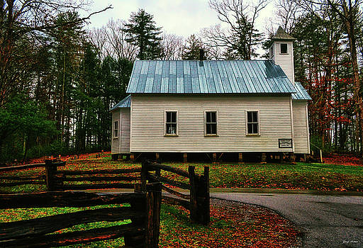 Cades Cove Missionary Baptist Church 001 by George Bostian