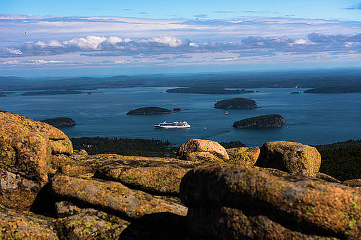 Cadillac Mountain View by Sherman Perry