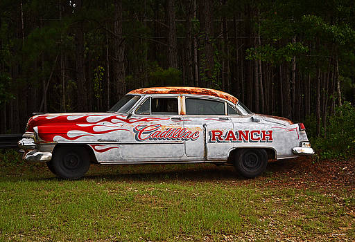 Cadillac Ranch 001 by George Bostian