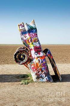 Cadillac Ranch, West Texas by Greg Kopriva