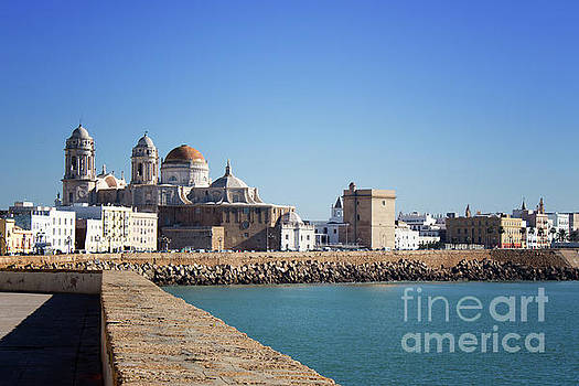 Cadiz Cathedral Andalusia by Lynn Bolt