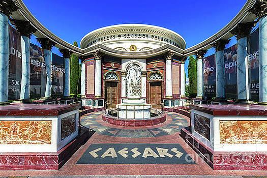 Caesars Palace Secret Entrance Wide by Eric Evans