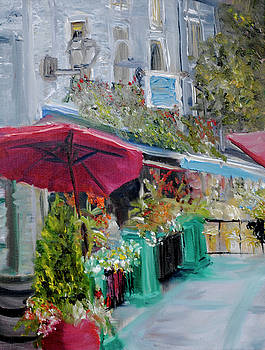Cafe Canada Quebec by Michael Lee