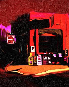 Cafe Pasqual's Santa Fe by Terry Fiala