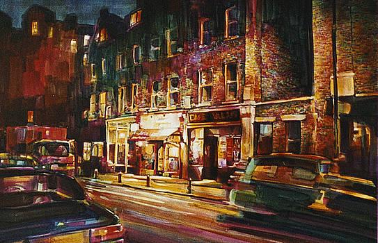 Cafe Valais by Lois Hogg