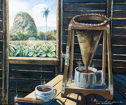 Cafetera Cubana by Makam  art