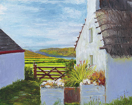 Calf of Man from Cregneash Heritage Village by Dai Wynn