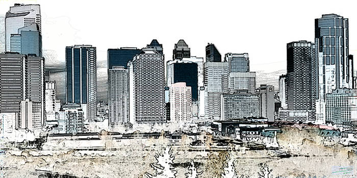 Stuart Turnbull - Calgary skyline 1