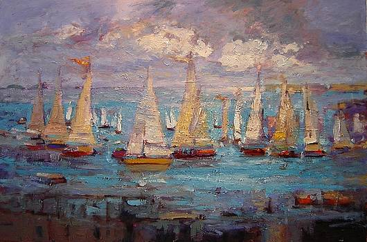 Cali Regatta by R W Goetting