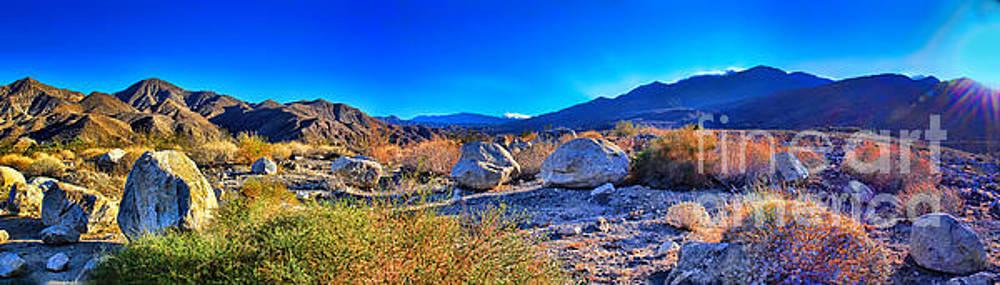 California Wilderness Panorama by Mariola Bitner